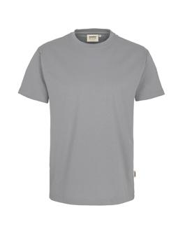 Herren Shirt in Titan mit Rundhals-Ausschnitt