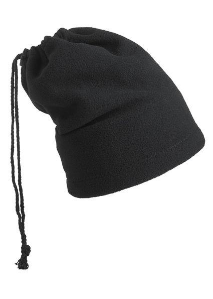 Balaclava - Mütze und Schal in einem – schwarz