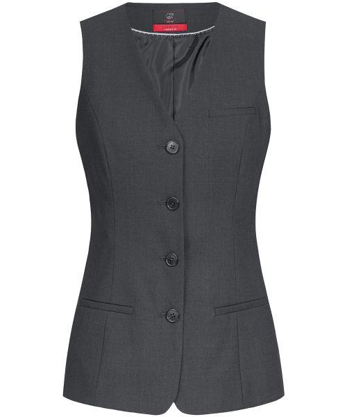 Moderne Business Damen Weste comfort fit | GREIFF Premium 1244