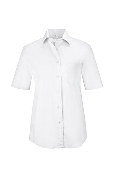GREIFF basic - style 6651 Bluse für Damen kurzarm comfort fit in 6 Farben - comfort fit