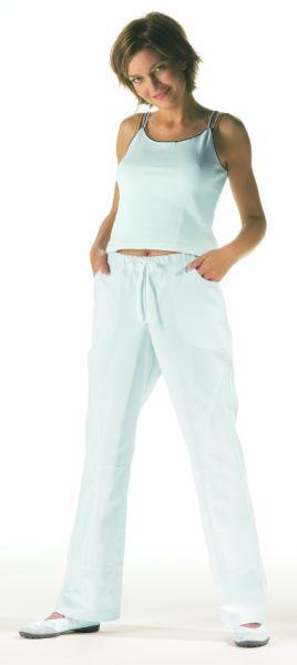 LEiBER classic style jugendliche Damenhose weiß stretch 08-5900