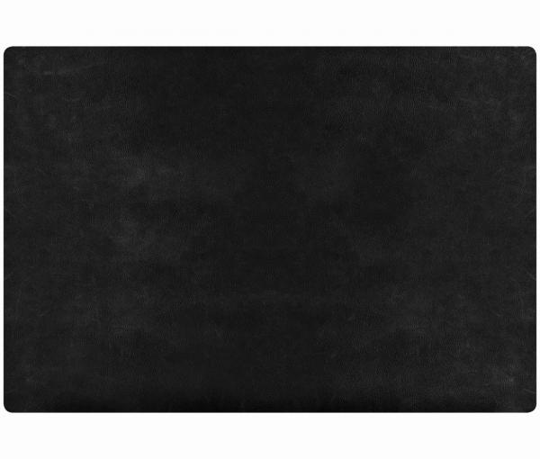 Leder - Tischset im Rustic-Style - 4 Stück schwarz 655 | 96 EXNER