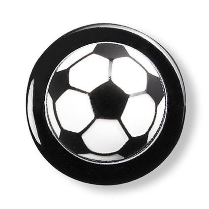 GREIFF - style 5900 Kugelknöpfe für Kochjacken - 12er Pack - Fussball