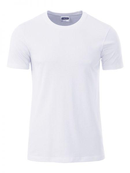 Herren Shirt weiß Bio-Baumwolle Tradition Daiber