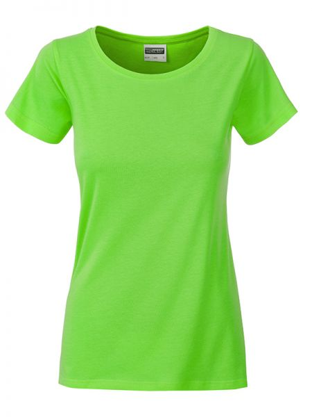 Damen Shirt lime-green Bio-Baumwolle Tradition Daiber