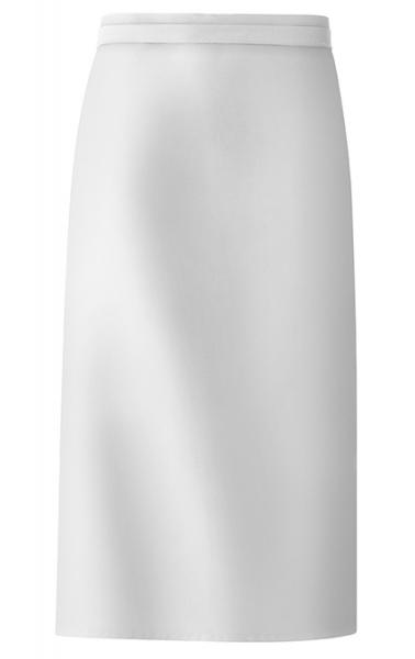 Bistro-Schürze 100x80 cm in Weiß