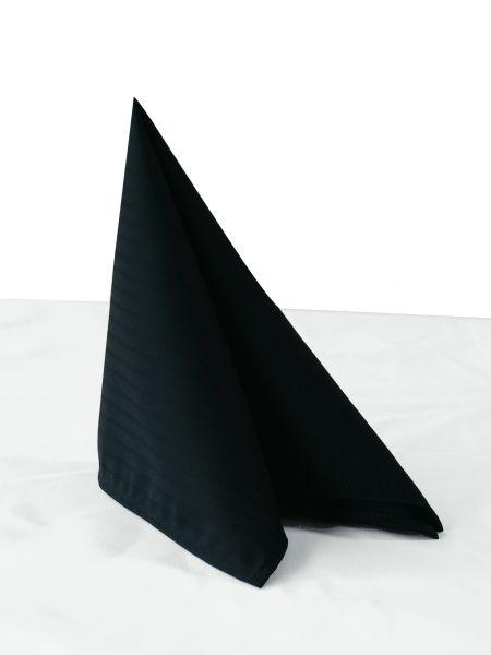 Servietten schwarz Santino 80370 Chaud Devant