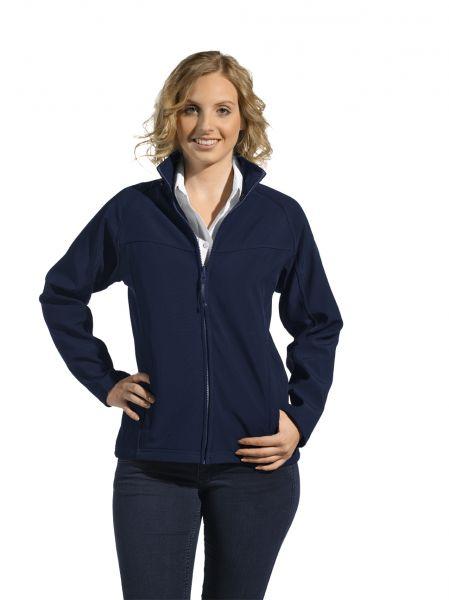 LEiBER Softshelljacke für Damen 10-1145 in schwarz oder marine blau