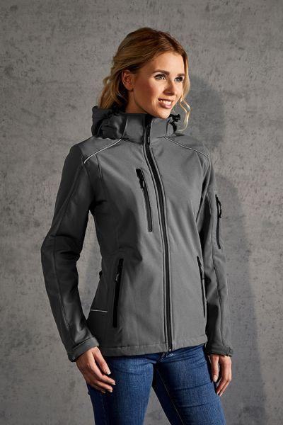 Softshell Jacke Damen grau
