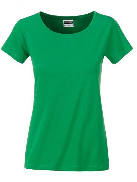 Damen Shirt fern-green Bio-Baumwolle Tradition Daiber