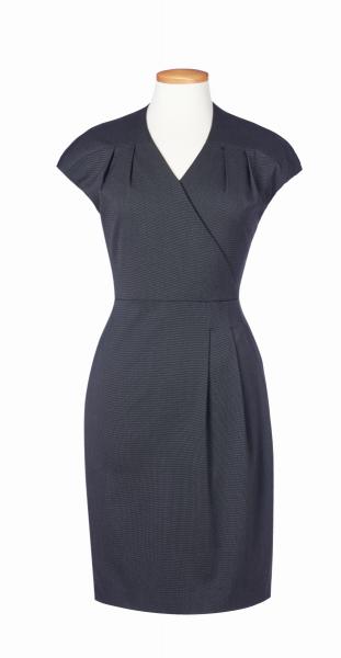 Damen Kleid Cressida in Anthrazit pinpoint
