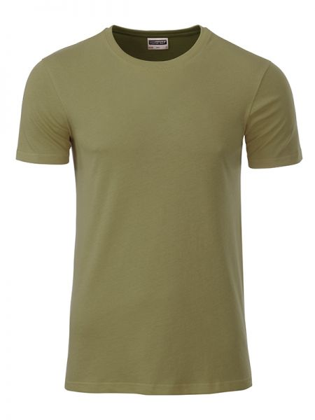 Herren Shirt khaki Bio-Baumwolle Tradition Daiber