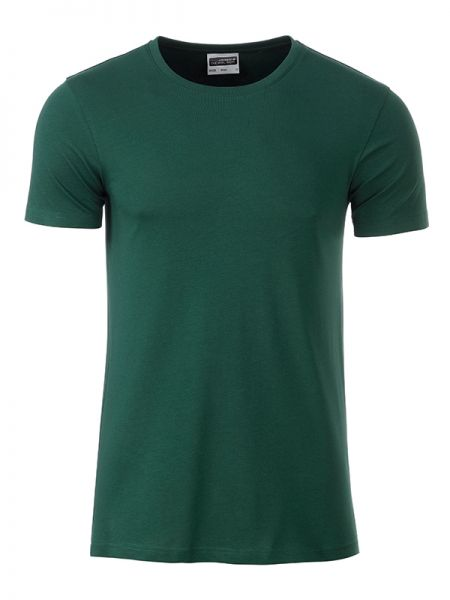 Herren Shirt dark-green Bio-Baumwolle Tradition Daiber