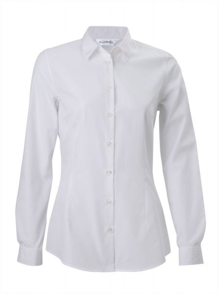 Damen Bluse LINDA für Büro/Service - slim Fit langarm | Kümmel 690030