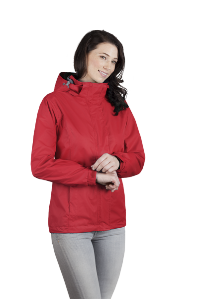 Damen Performance Jacke rot