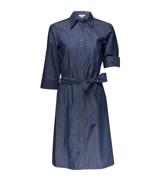 Damen Blusenkleid jeansblau Heidelberg KÜMMEL