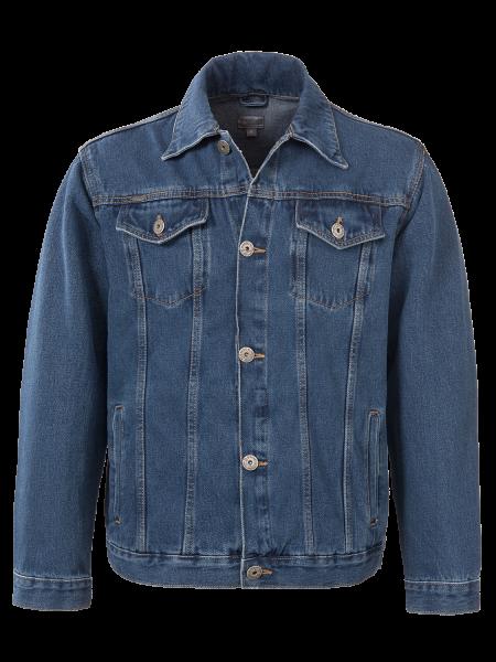 Jeans Jacke Herren in Blue