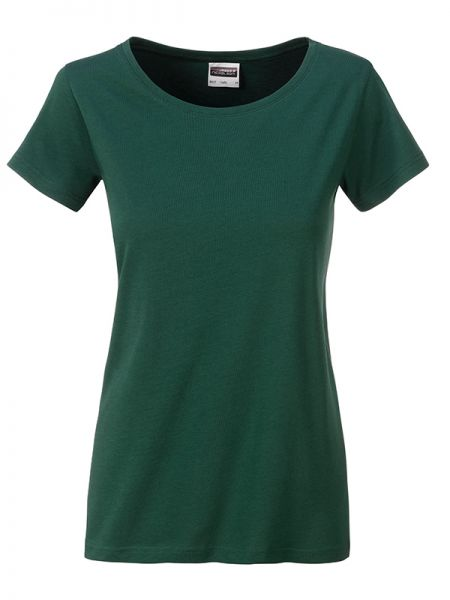 Damen Shirt dark-green Bio-Baumwolle Tradition Daiber