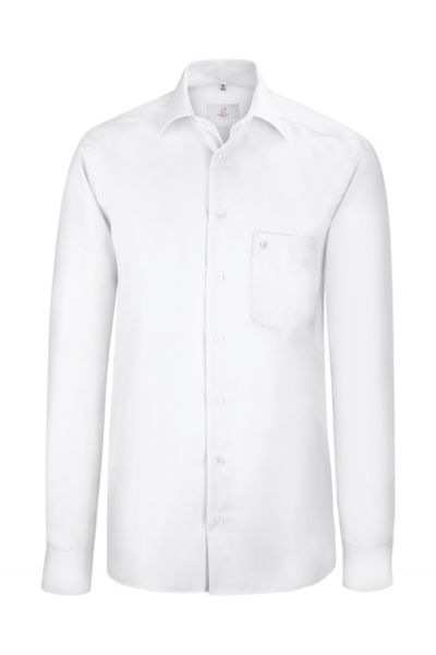 GREIFF premium - style 6607 Herrenhemd extra langarm comfort fit in weiß