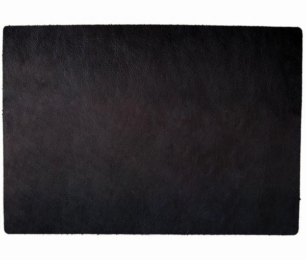 Leder - Tischset im BBQ-Style - 4 Stück schwarz 653 | 98 EXNER
