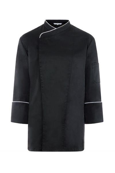 GREIFF - style 5545 Chef Kochjacke in schwarz