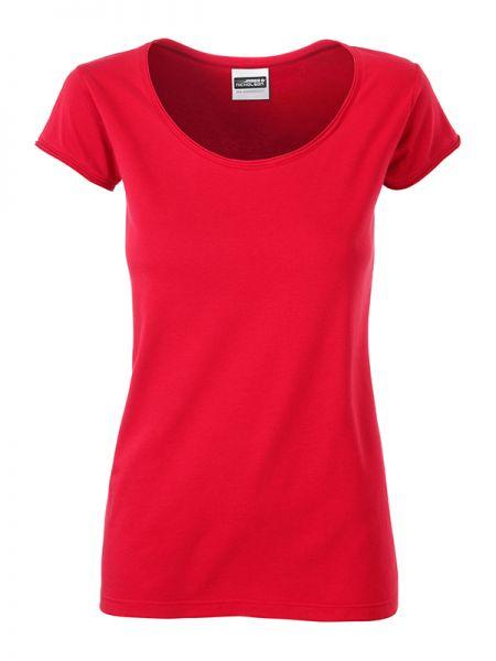 Damen Shirt rot Tradition Daiber