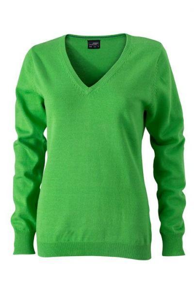 Damen Pullover - grün