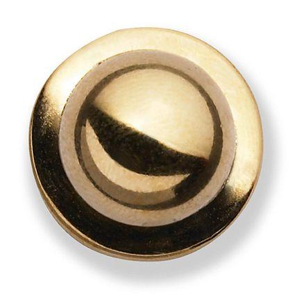GREIFF - style 5900 Kugelknöpfe für Kochjacken - 12er Pack - gold
