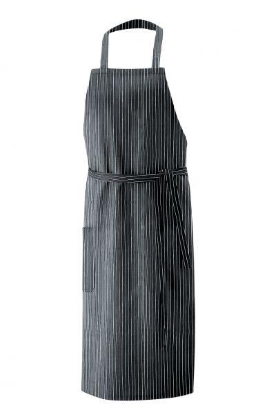 Exner Latzschürze 80x100 cm - 100% Baumwolle - nadelstreifen