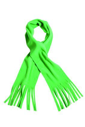 klassischer Fleece Schal grün