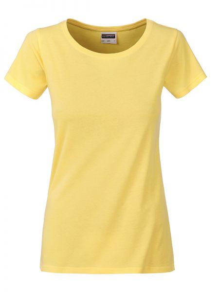 Damen Shirt hellgelb Bio-Baumwolle Tradition Daiber