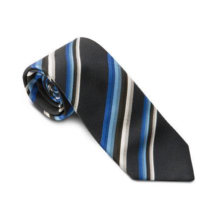 GREIFF - style 6900 Krawatte gestreift 8cm breit in 13 Varianten
