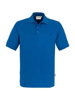 Herren Polo Performance in Royalblau