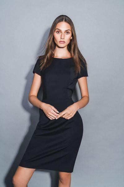 Exklusives Business Damen Kleid modern fit | Daniel Hechter TAILORED 14040