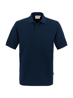 Herren Polo Performance in Tinte