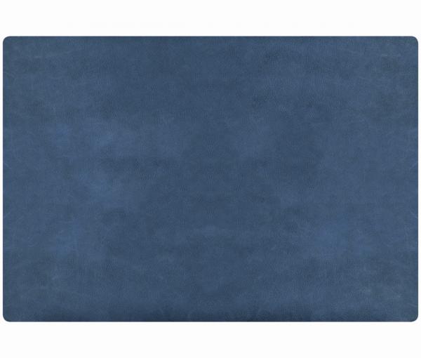 Leder - Tischset im Rustic-Style - 4 Stück royalblau 655 | 96 EXNER