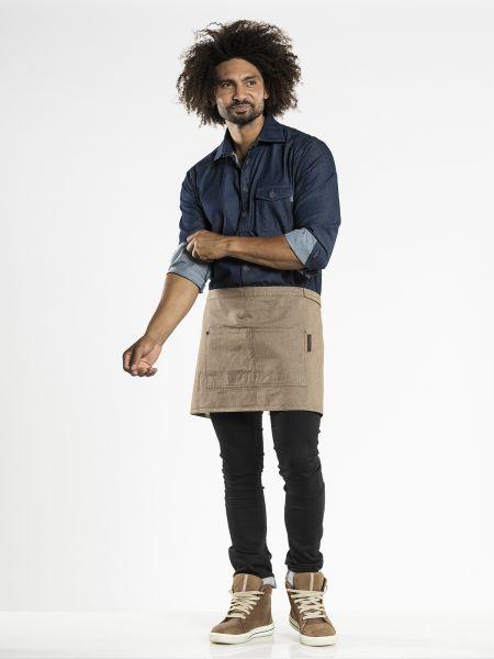Jeans Schürze - Vorbinder 80 x 40 cm Mud Denim