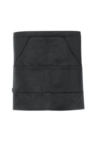 GREIFF - style 4141 Vorbinder 77x40 mit 4 Taschen in schwarz