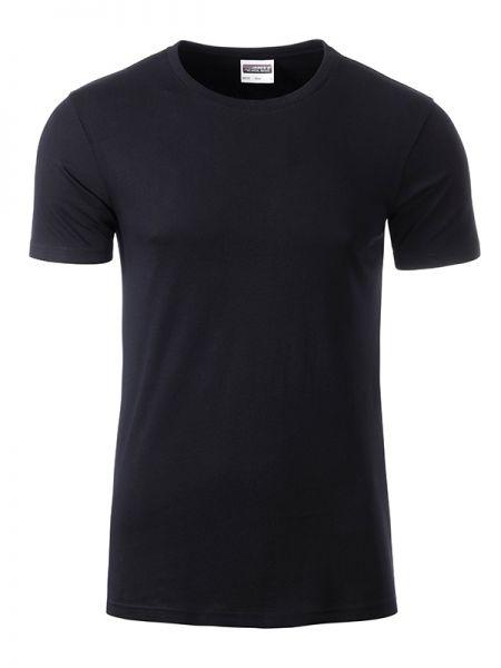 Herren Shirt black Bio-Baumwolle Tradition Daiber