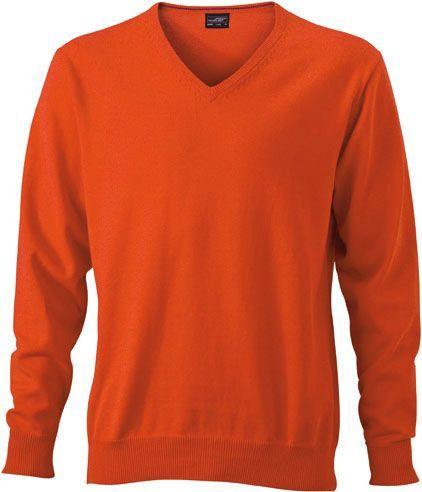 Herren Pullover - orange