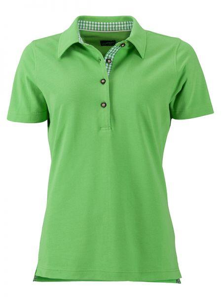 Damen Polohemd grün Tradition Daiber