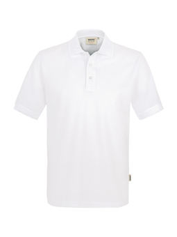 Herren Polo Performance in Weiß