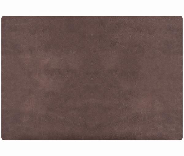 Leder - Tischset im Rustic-Style - 4 Stück taupe 655 | 96 EXNER