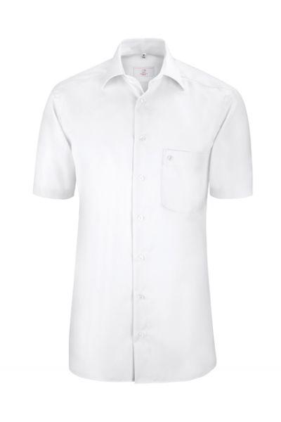 GREIFF premium - style 6611 Herrenhemd kurzarm regular fit in weiß | bleu