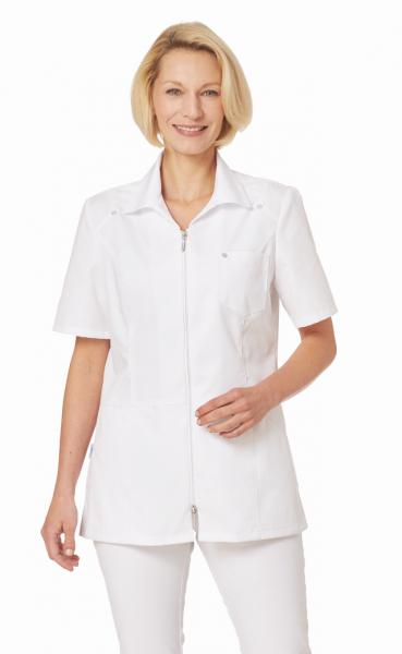 Hosenkasack in Weiß mit ½ Arm