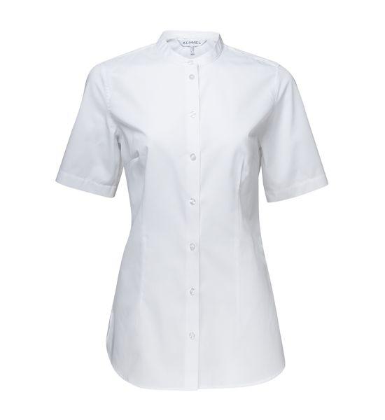 Damen Bluse weiß kurzarm Judi KÜMMEL