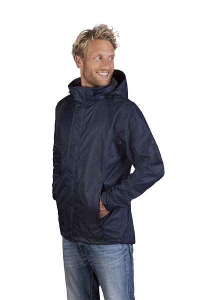 Herren Performance Jacke navy