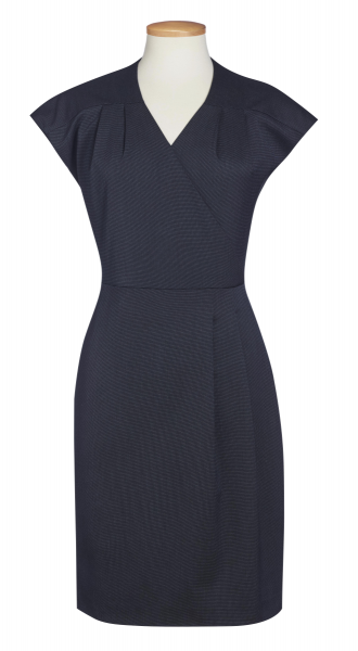 Damen Kleid Cressida in Marine pinpoint