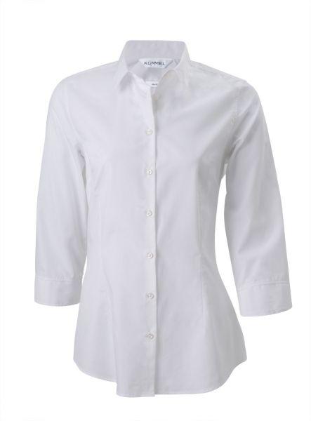 Damen Bluse LINDA für Büro/Service - slim Fit 3/4-Arm | Kümmel 628801