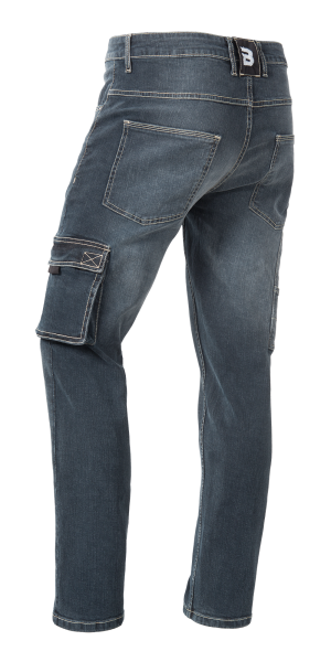 Jeans Arbeitshose in Blue Denim